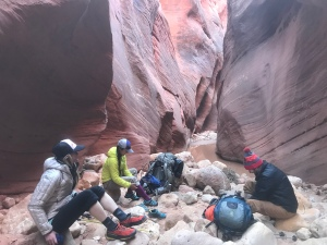 Buckskin Gulch, Wire pass, Paria canyon